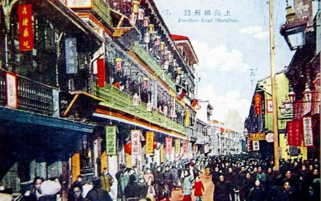 民初上海的彩色明信片