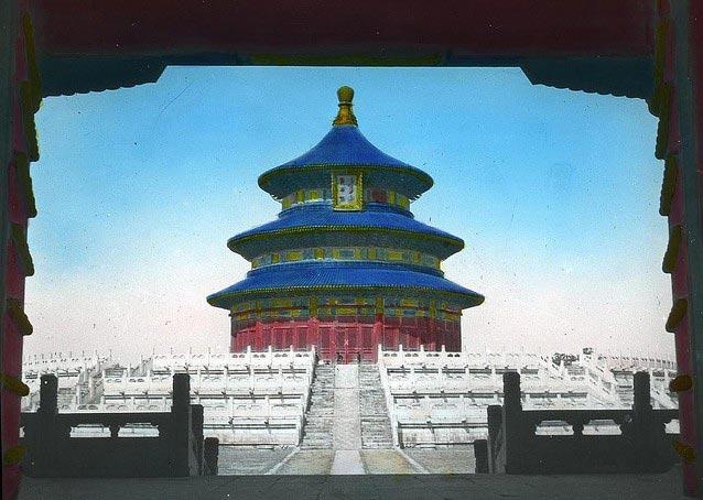 老北京实景上色照