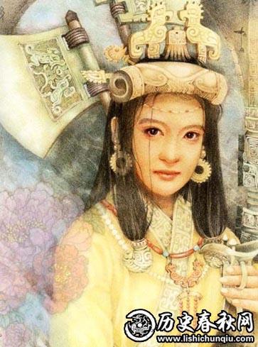 中国历史上第一位女将军:妇好